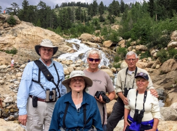 Birders from CO and IL